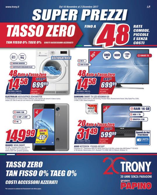 fcf451de07 SP - Papino Trony - Super prezzi dal 16 Novembre al 3 Dicembre 2017 - Page 1  - Created with Publitas.com