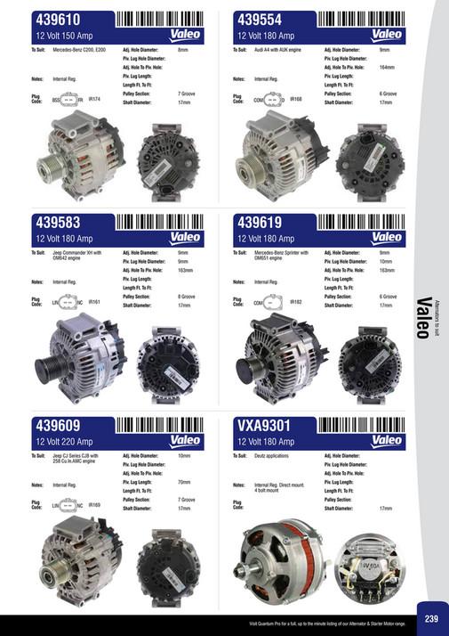 Ashdown-Ingram - Alternator & Starter Motor Catalogue 2014