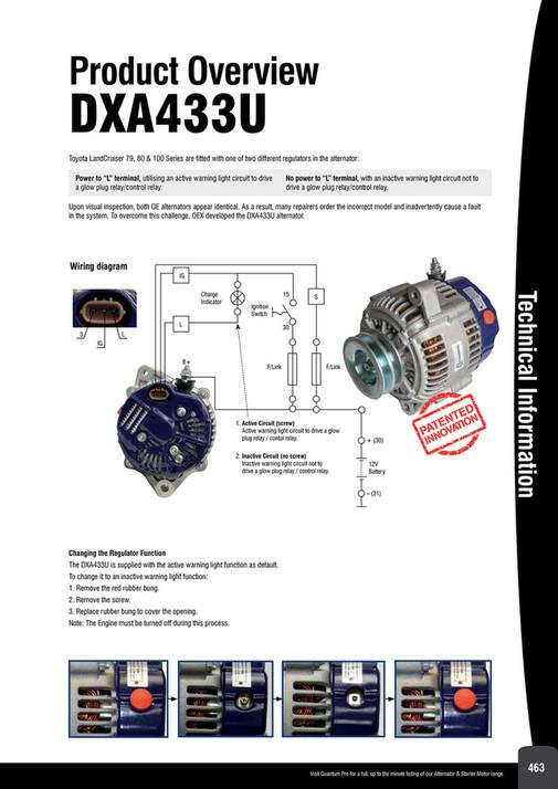 AshdownIngram Alternator Starter Motor Catalogue 2014 Page