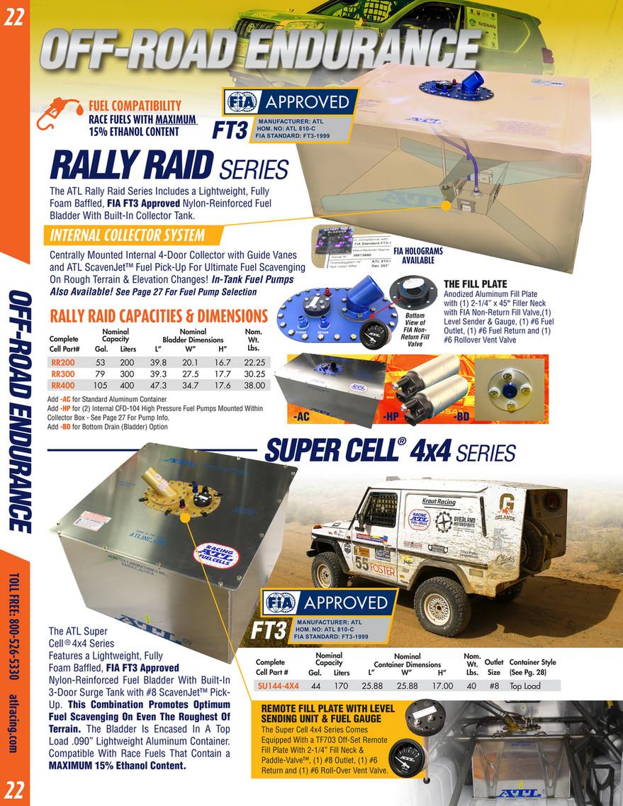 Aero Tec Laboratories - 2018 ATL Fuel Cells Catalog - Page 22-23