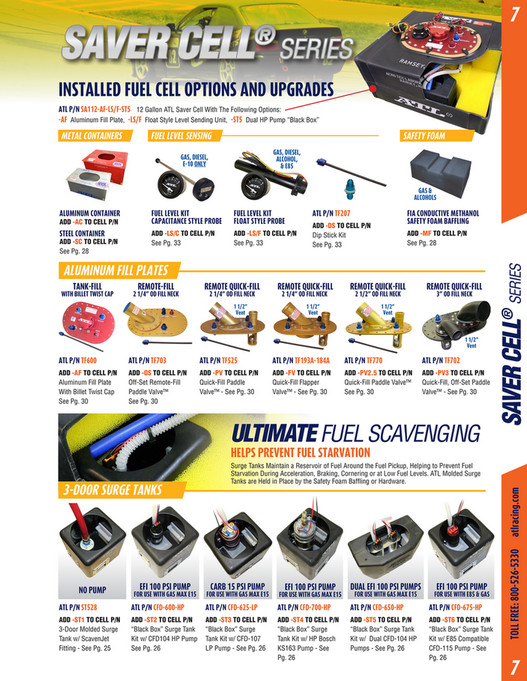 Aero Tec Laboratories - 2018 ATL Fuel Cells Catalog - Page 6-7
