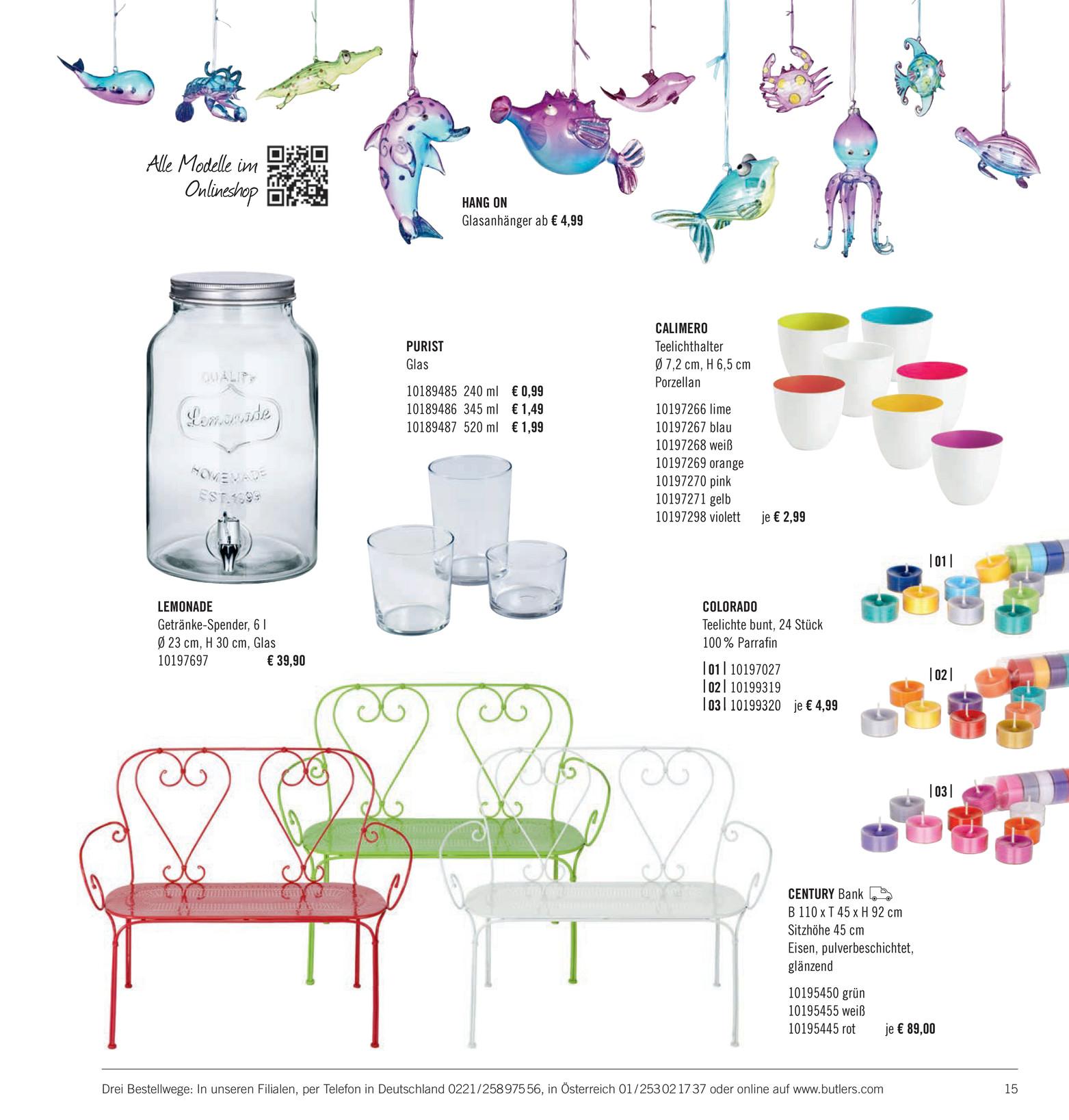 Butlers Katalog De Sonnenst Cke Katalog 2014 Seite 14 15