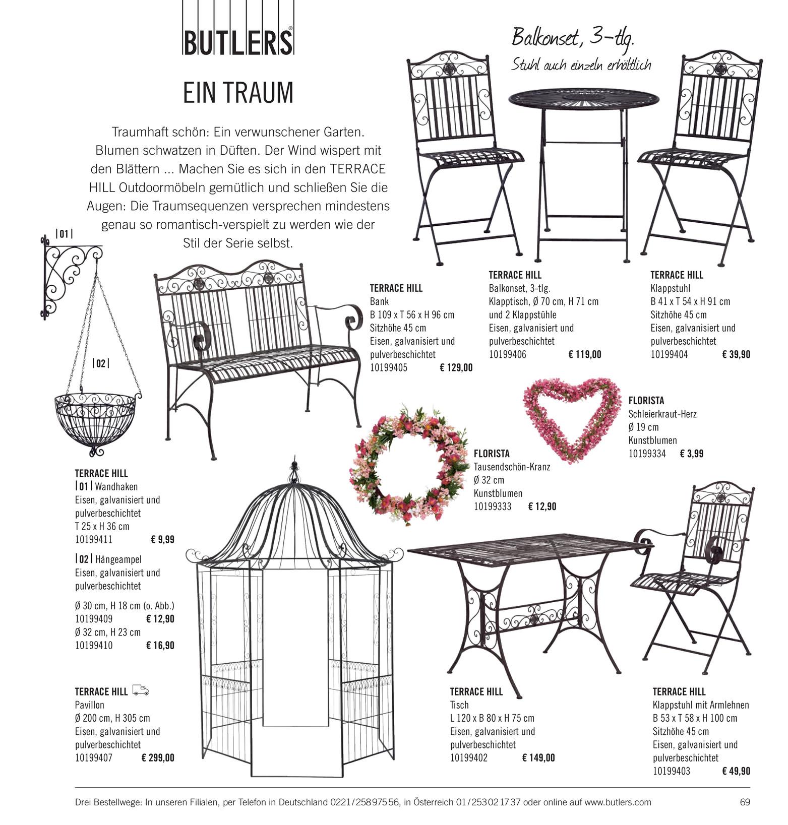 Butlers Katalog De Sonnenst Cke Katalog 2014 Seite 68 69