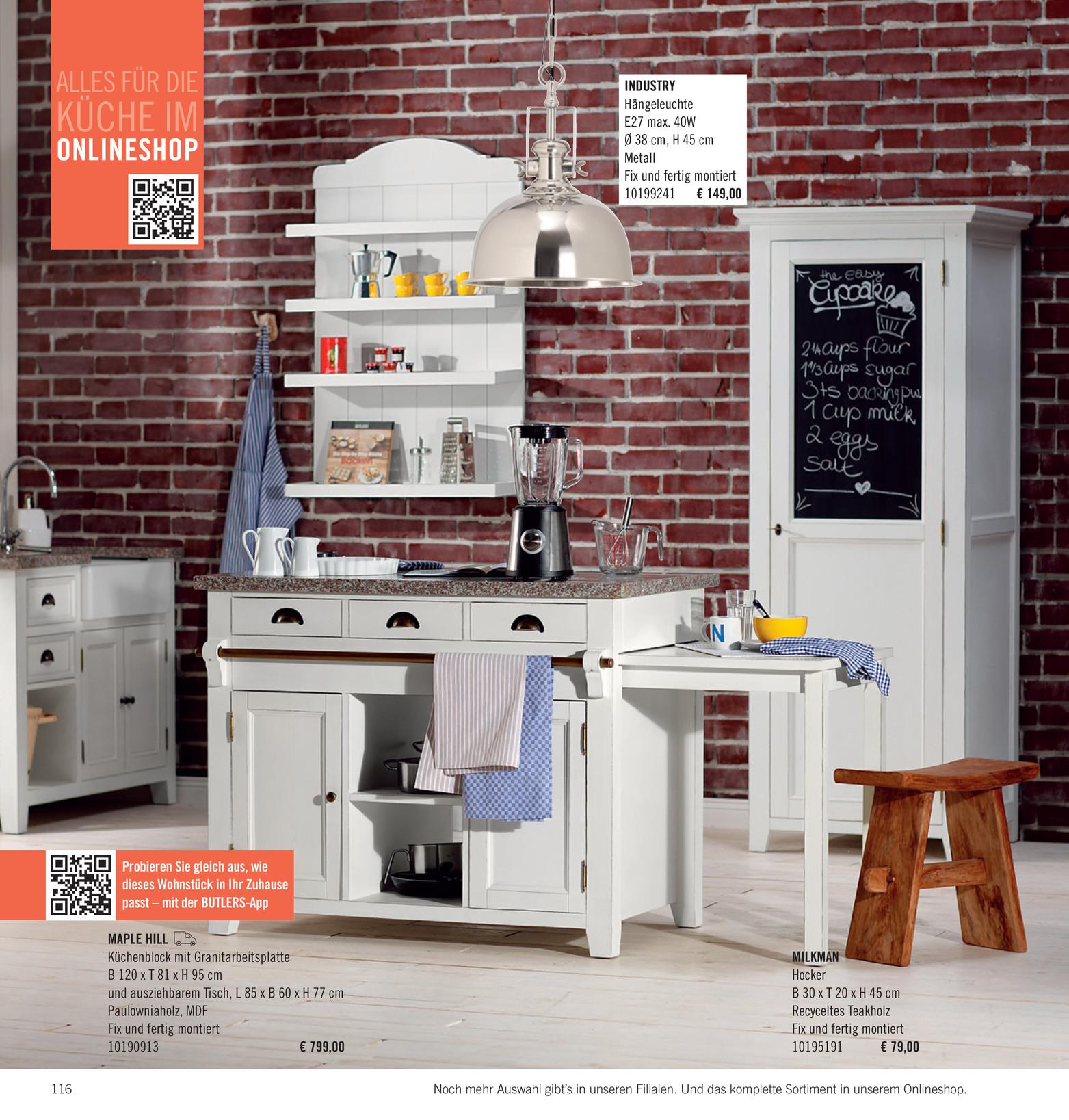 Butlers Katalog De Wohnst Cke Katalog 2014 Seite 116 117