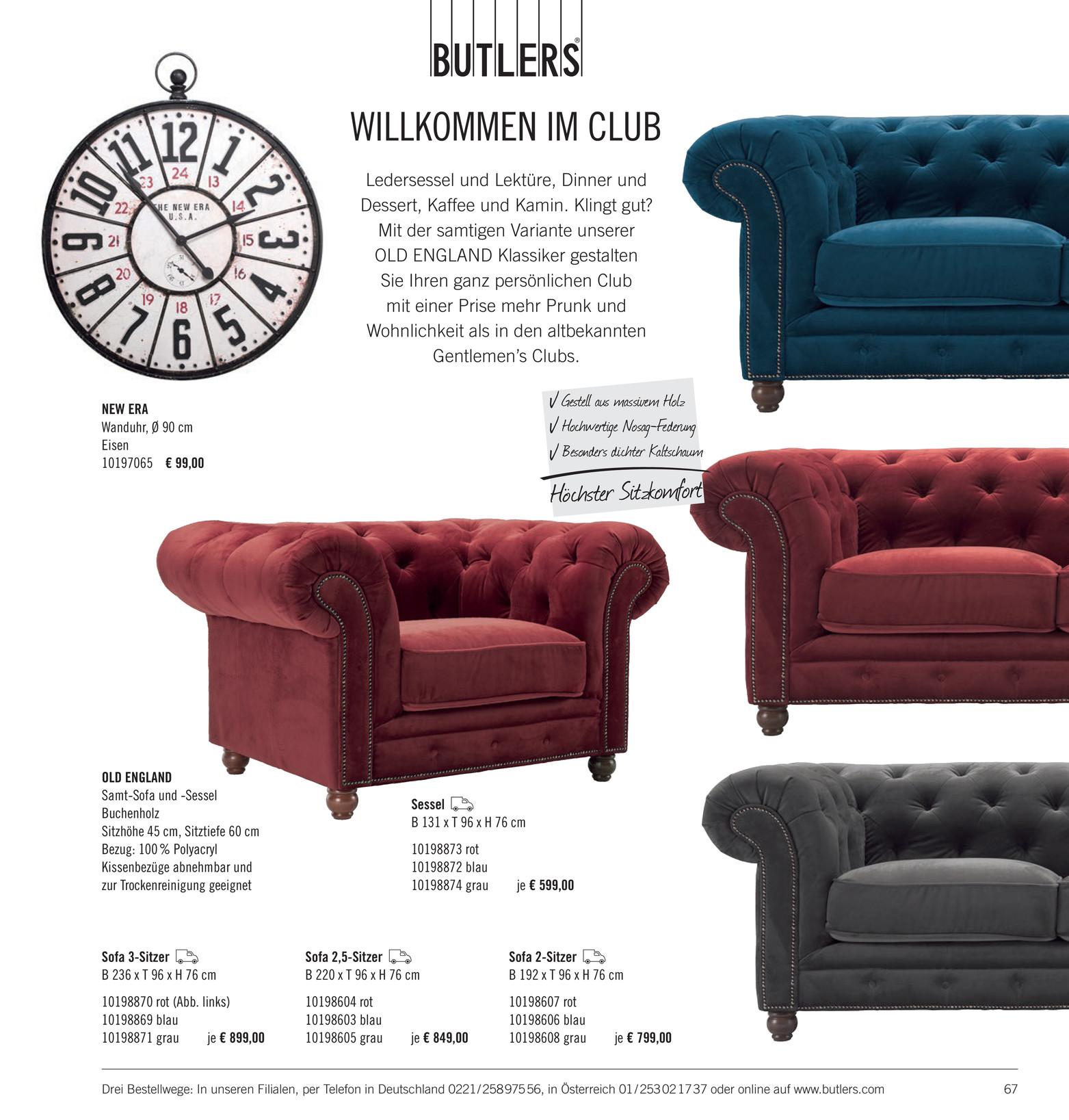 Butlers Katalog De Wohnst Cke Katalog 2014 Seite 66 67