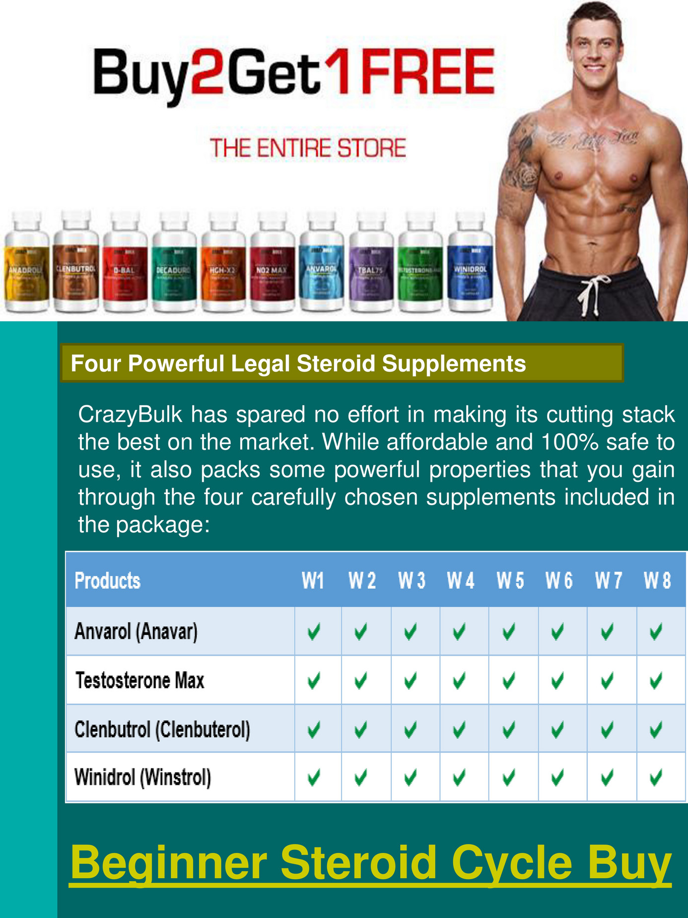 cycle steroids cutting