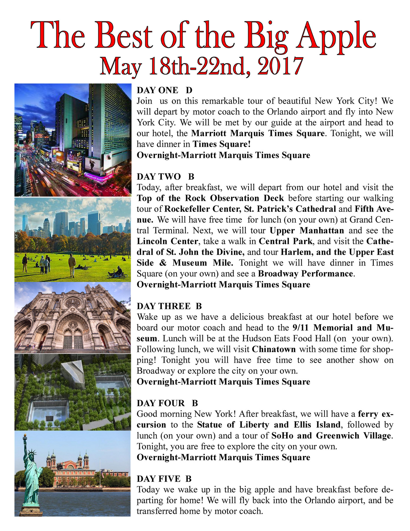 Solivita Travel Club - New York City - Page 1 - Created with