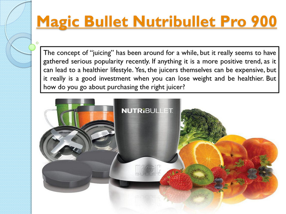 Magic Bullet Nutribullet - Nutribullet - Page 2 - Created with