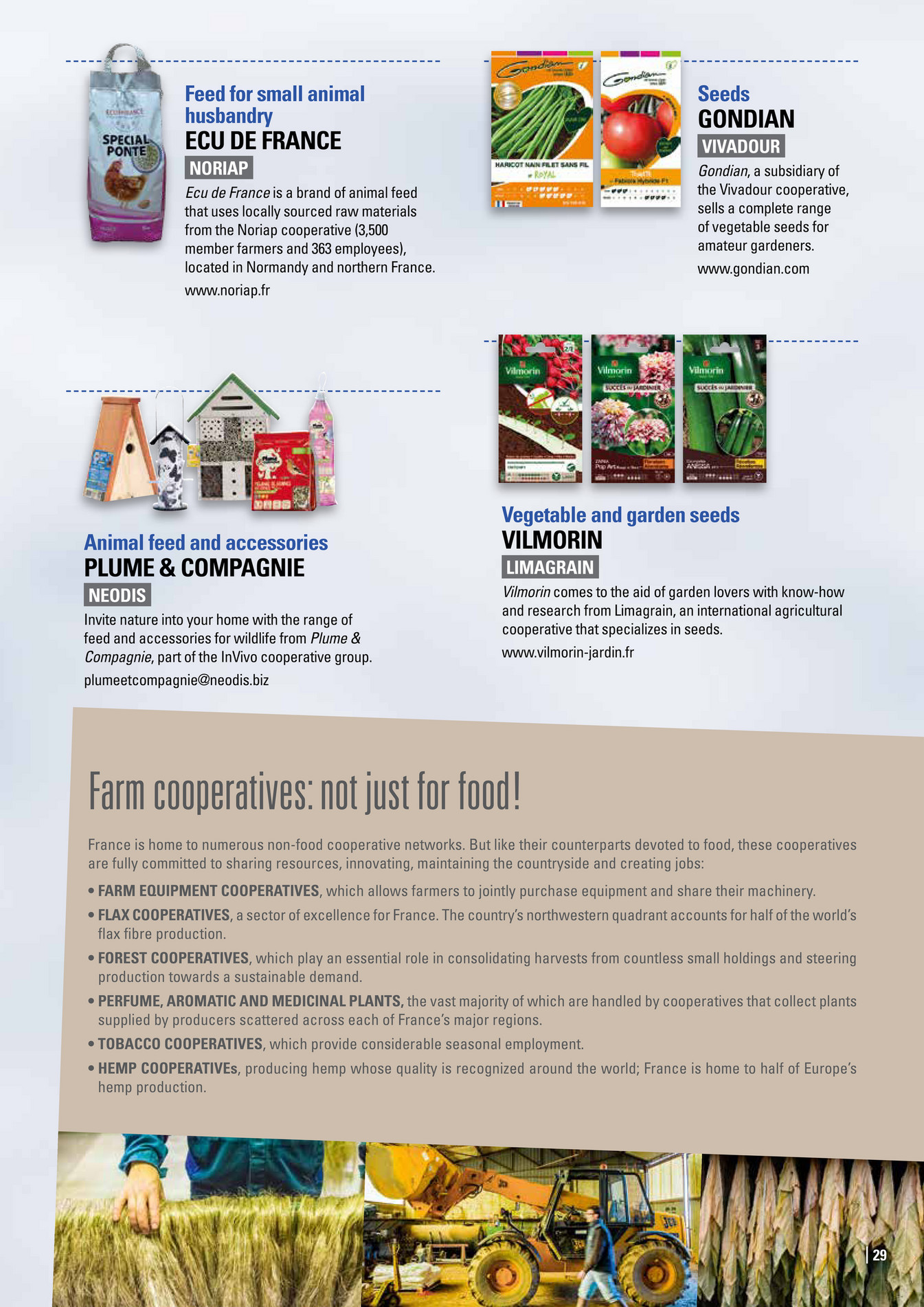 Parties Prenantes Be a cooperative consumer Products Page 28