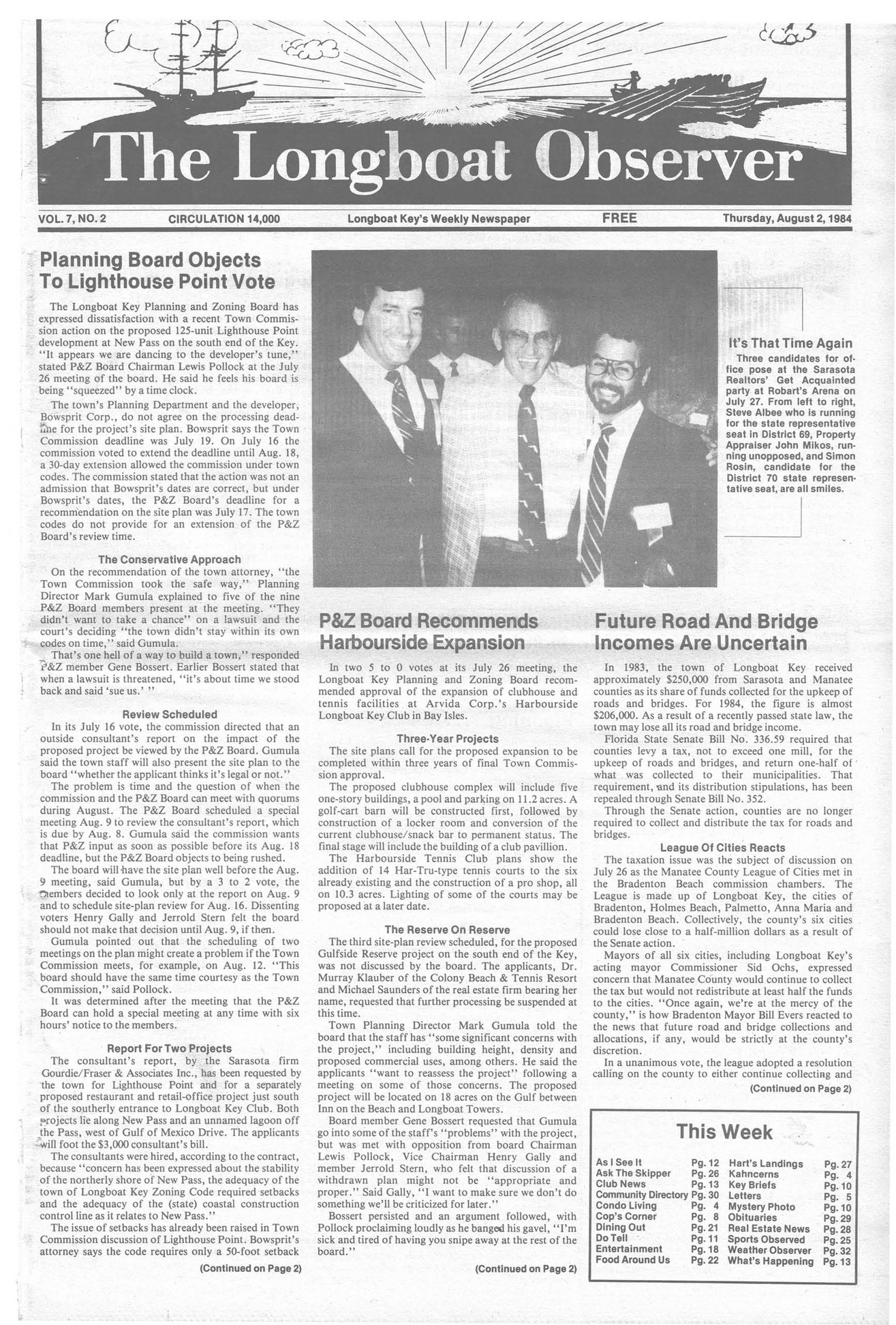 Archives - August 2 1984 - Page 1