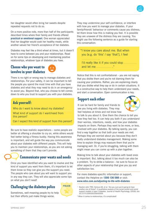 Diabetes Australia - Circle Spring 2017 NSW & ACT - Page 28