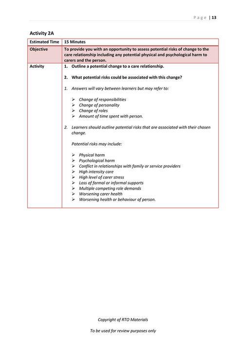 RTO Materials - CHCCCS025 Assessor Workbook V1 0 - Page 14-15