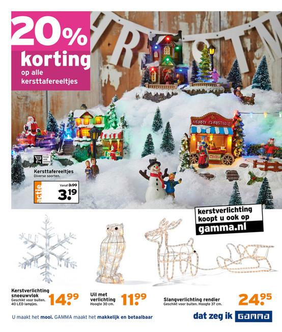 hoogte 125 20 korting op alle kersttafereeltjes kersttafereeltjes diverse soorten vanaf 399 actie 319 kerstverlichting koopt