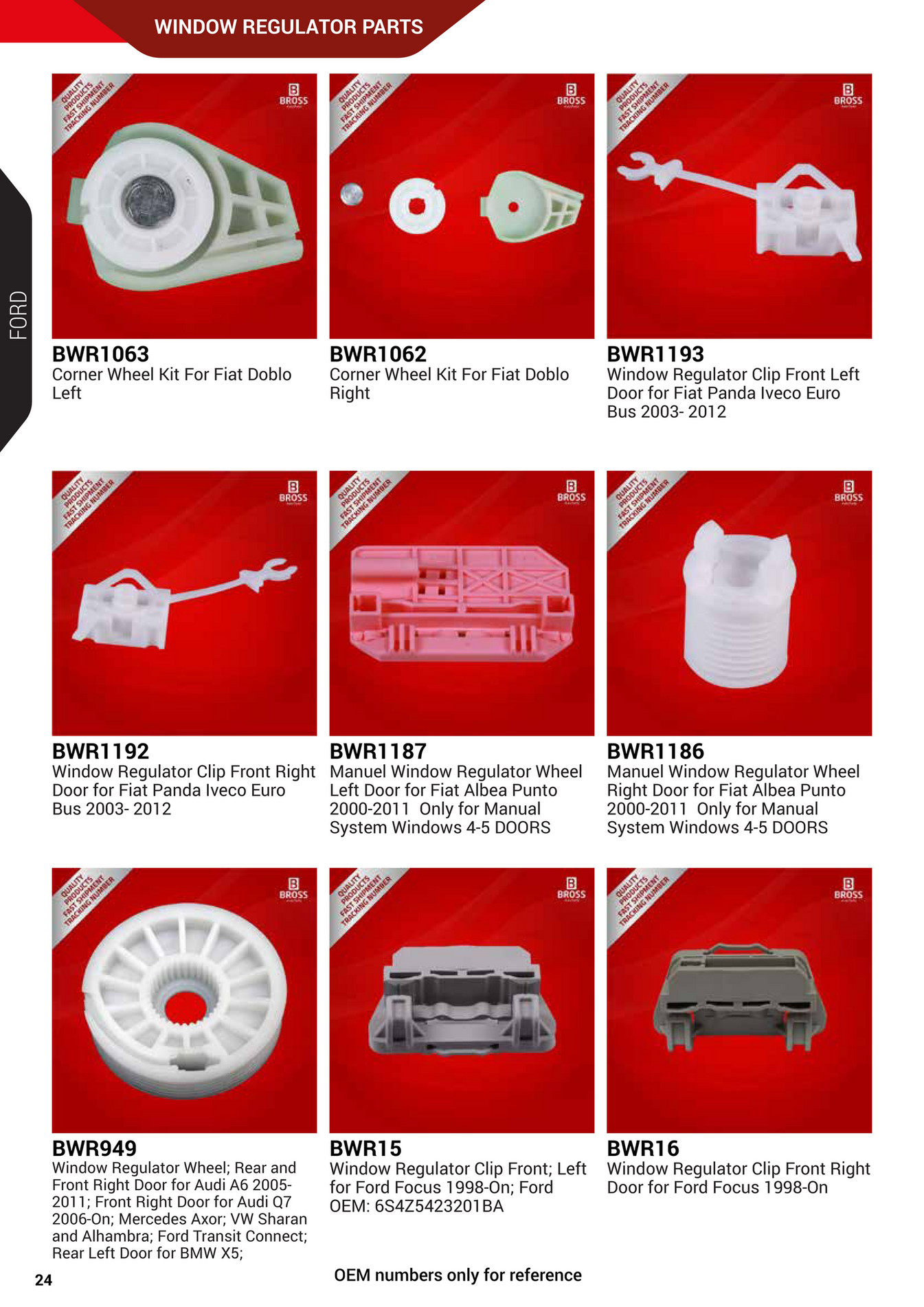 Manuel Auto Parts >> Bross Auto Parts Bross Auto Parts Supply Catalogue Page