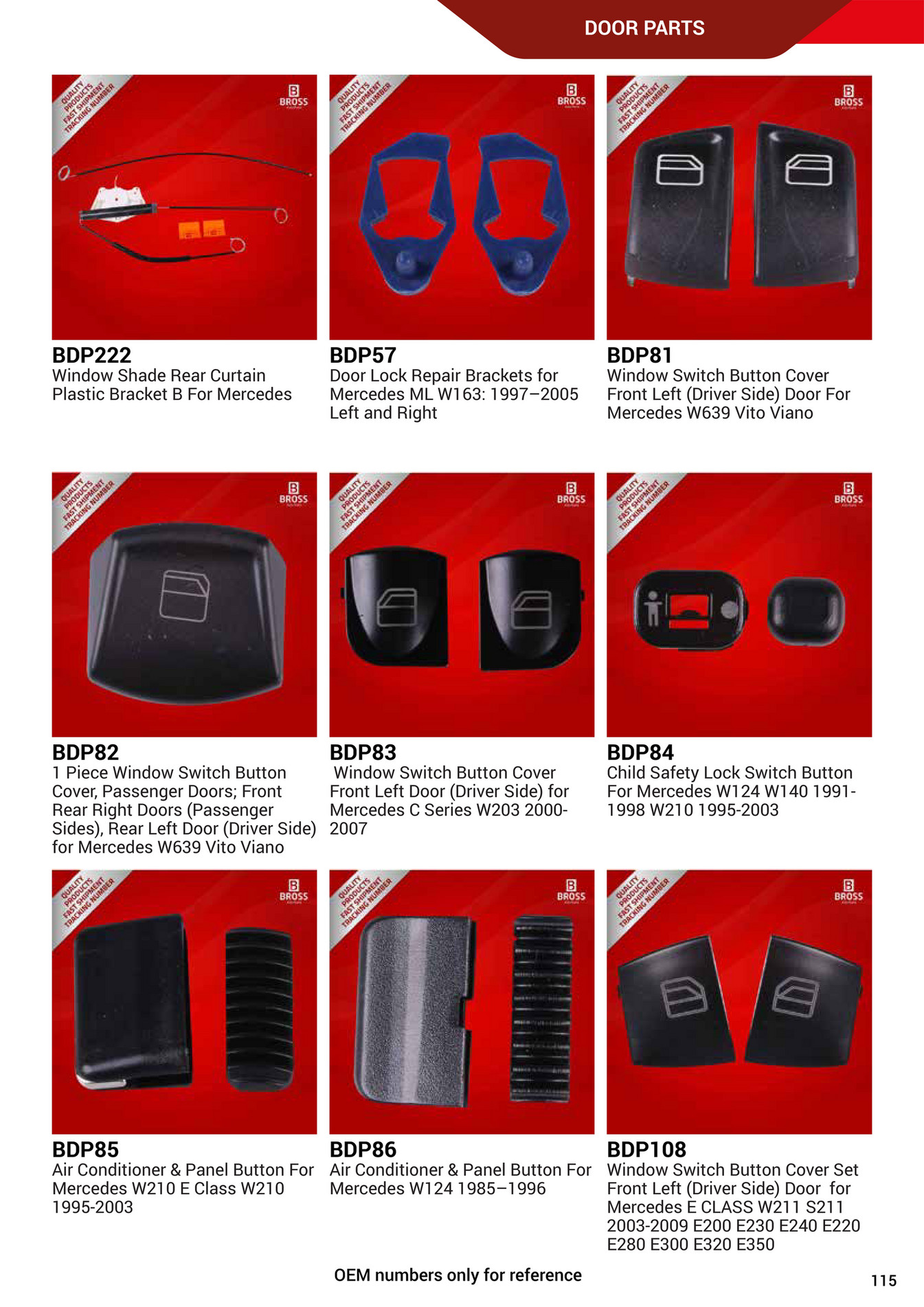 Bross Auto Parts - Bross_Auto_Parts_Supply_Catalogue - Page