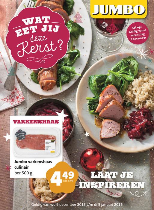Jumbo Supermarkten Jumbo Kerstfolder Pagina 1
