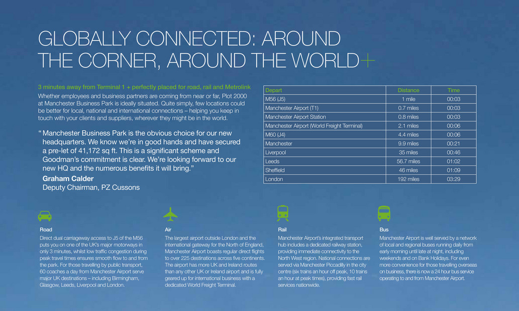 Goodman - Manchester Business Park brochure - Page 6-7