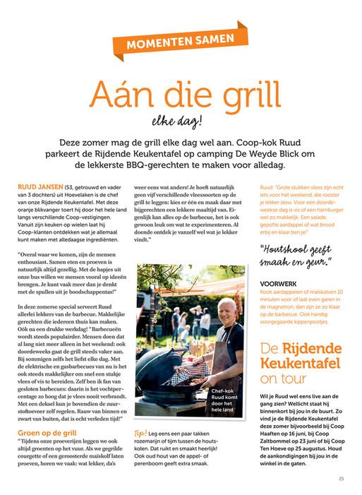 Coop Supermarkten Keukentafel Magazine 3 2018 Pagina 22 23