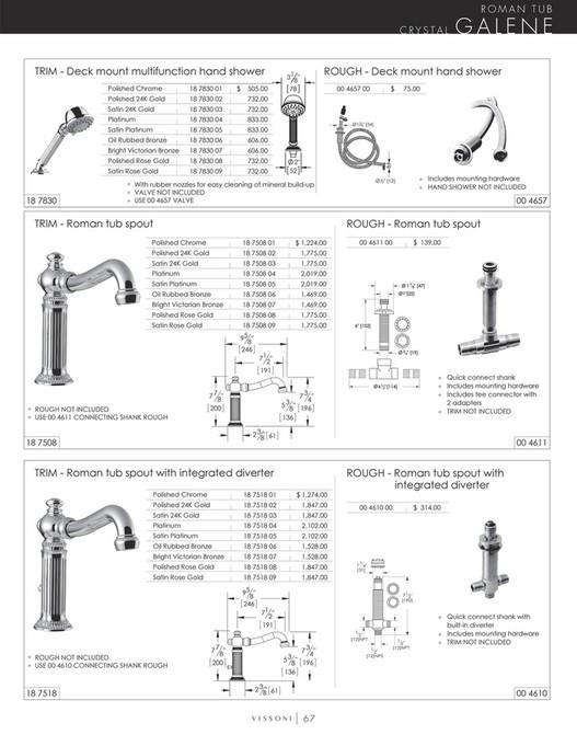 Vissoni - Price Book - Page 64-65 - Created with Publitas com
