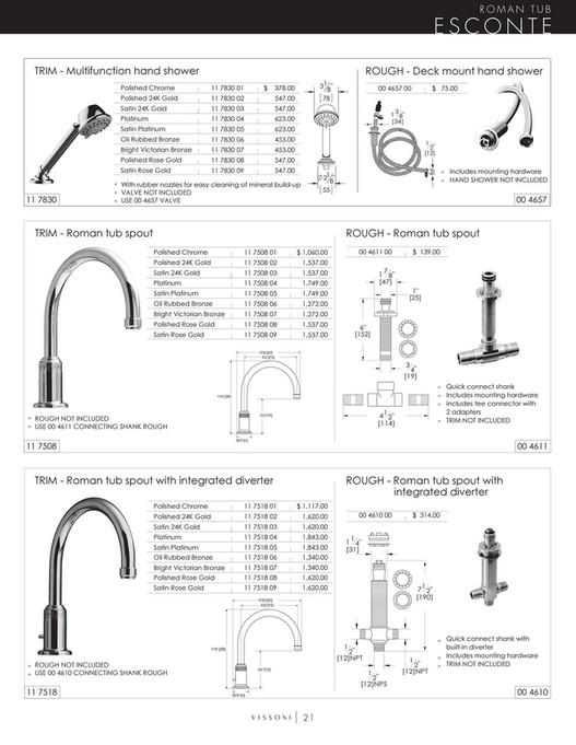 Vissoni - Price Book - Page 16-17 - Created with Publitas com