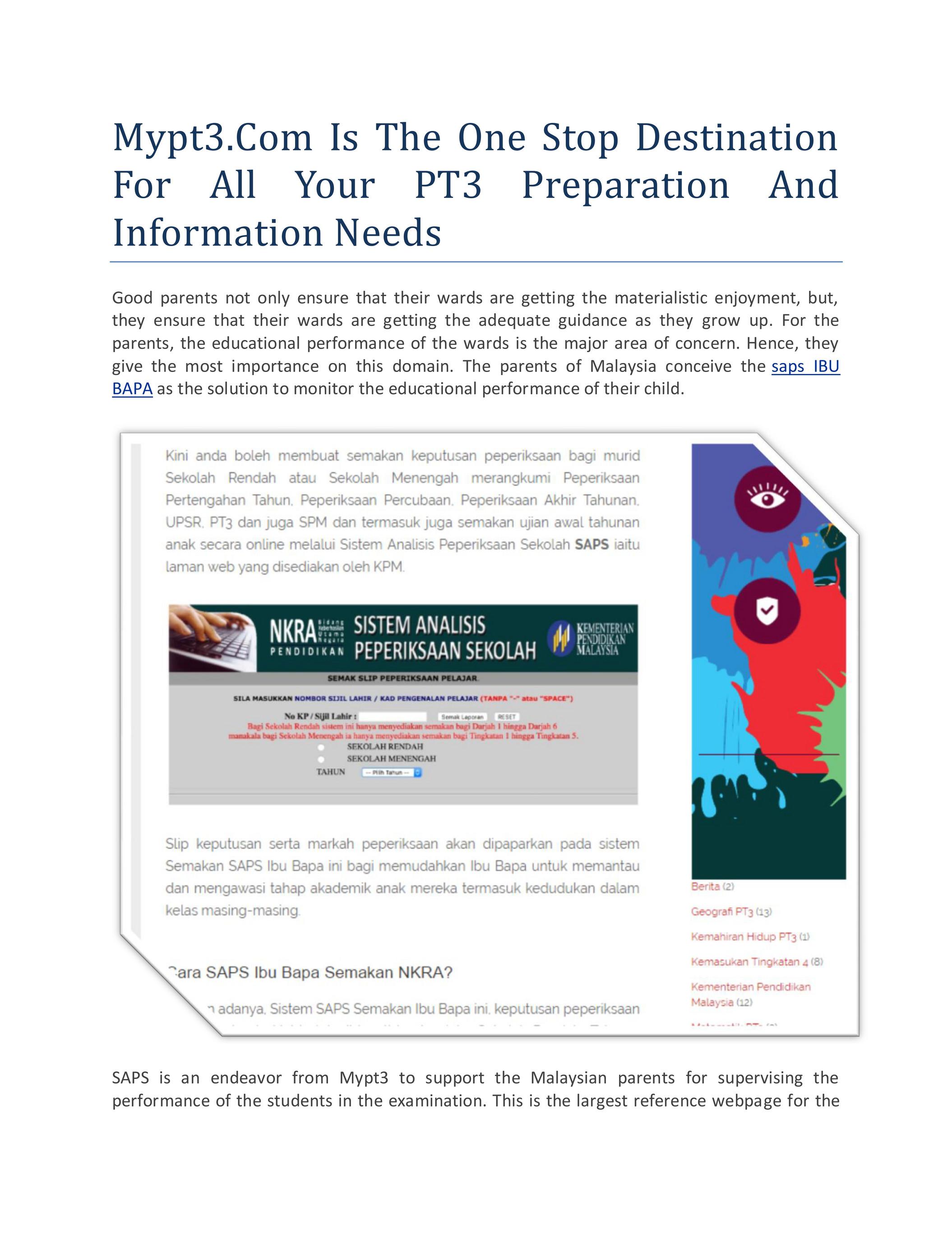 My Publications Saps Ibu Bapa Page 2 3 Created With Publitas Com