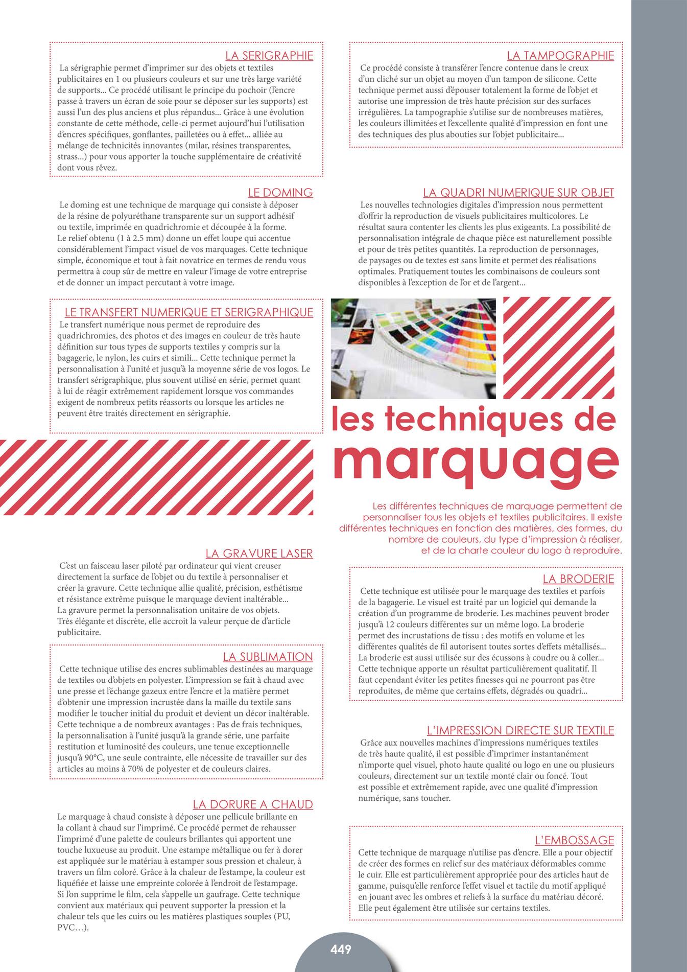 D Ou Vient Le Cuir promedif - catalogue promedif - 2015 - page 450-451