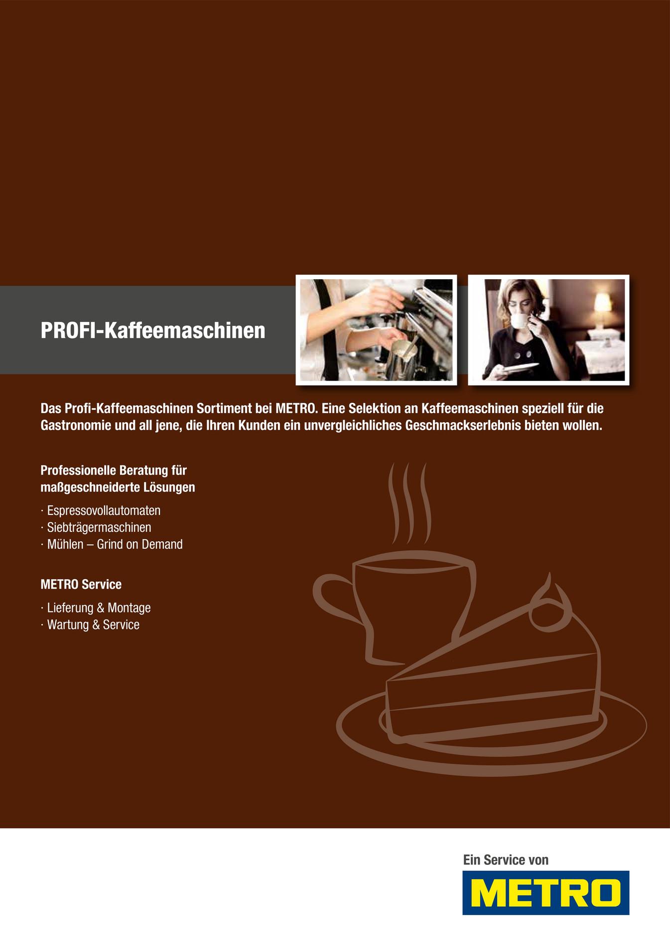 metro sterreich gastronomie profi kaffeemaschinen. Black Bedroom Furniture Sets. Home Design Ideas