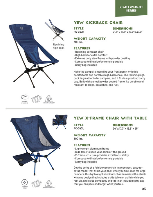 Westfield Outdoors - 2019 Timber Ridge Catalog - Page 22-23