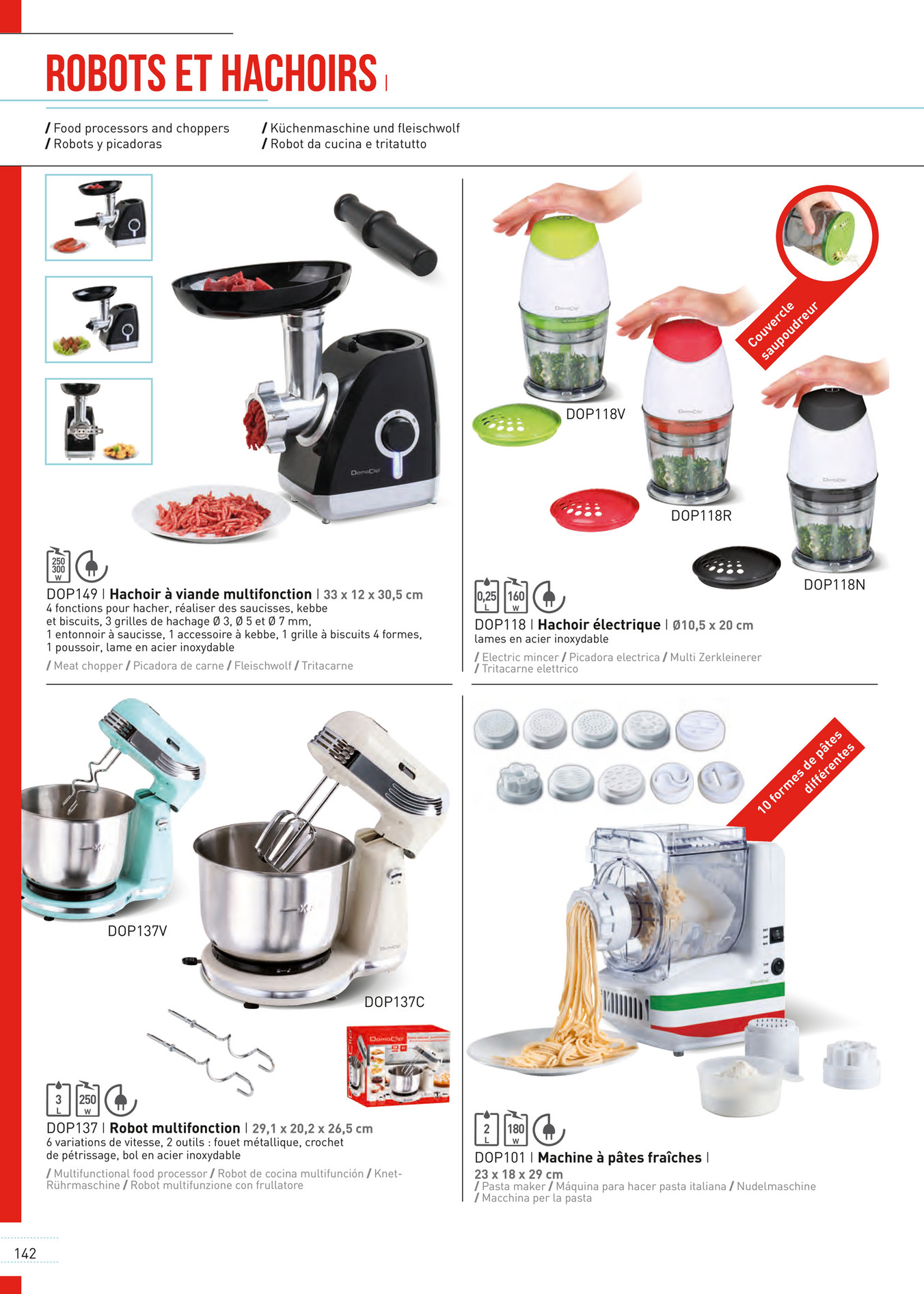 Cucina 4 X 4 delta - catalogue2016-neutre - page 142-143 - created with