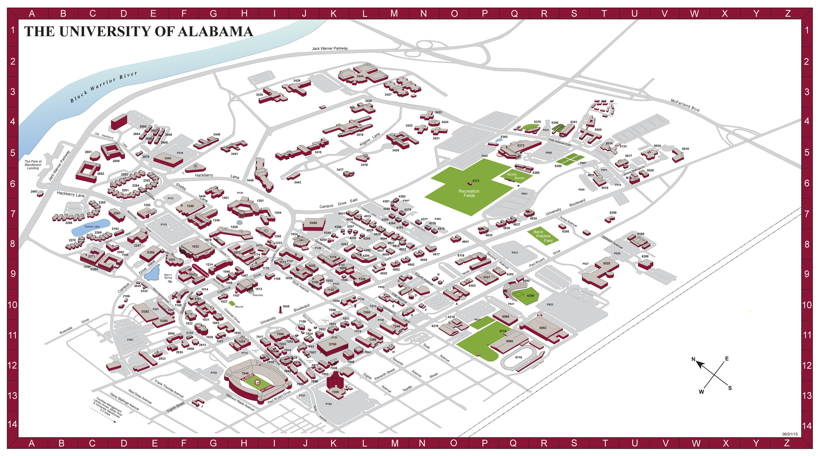 2du - University of Alabama map - Page 1 - Created with ...