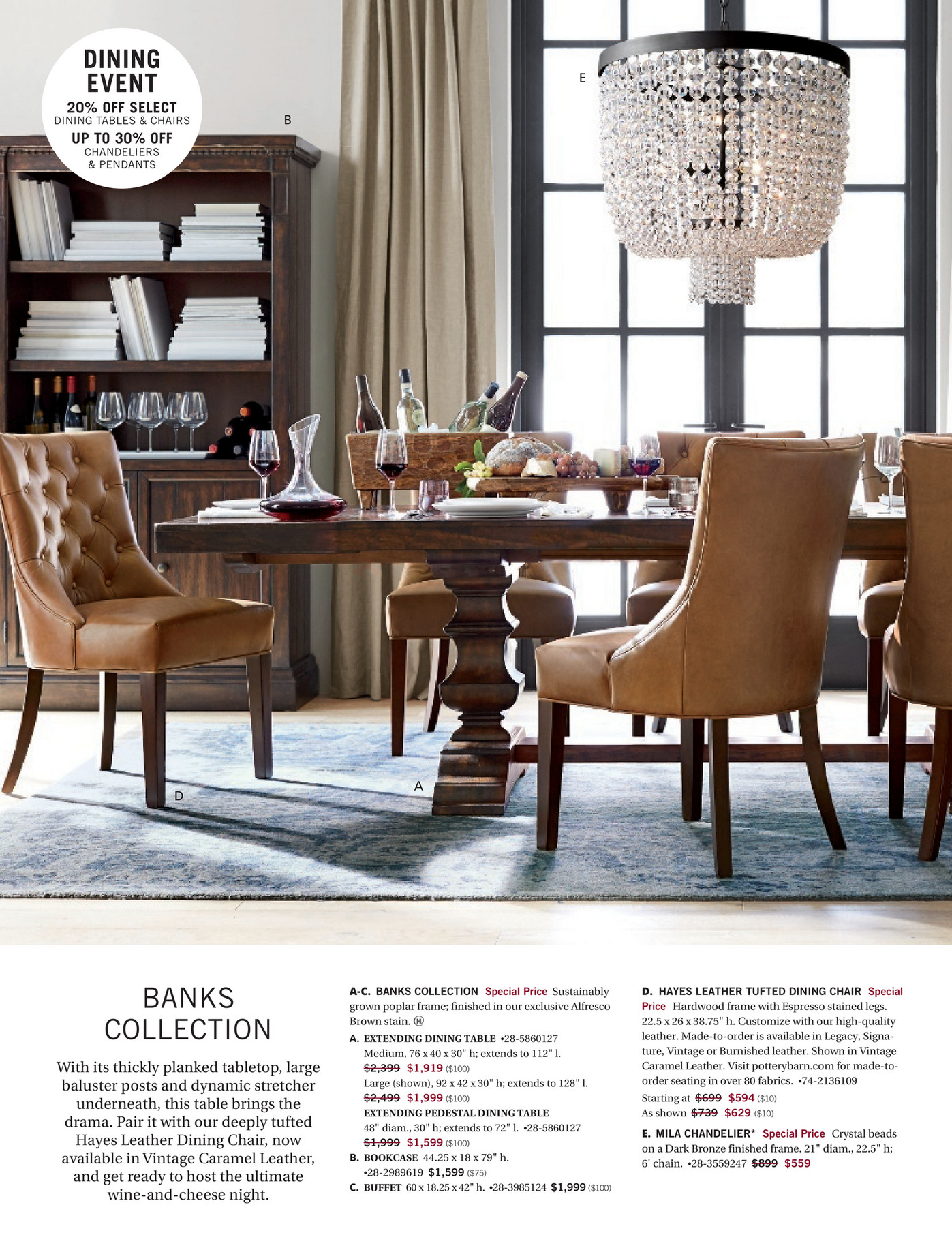Pottery Barn Early Holiday 2016 Page 60 61 From The Dining Room Buffet Price