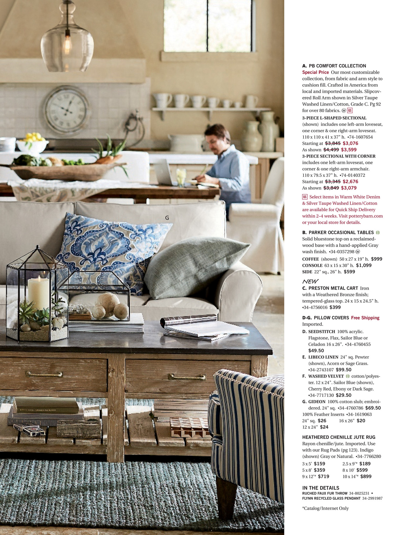 Pottery Barn Spring 2017 D1 Page 52 53