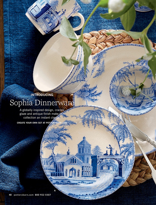 INTRODUCING Sophia Dinnerware A globally inspired design crackle glaze and antique finish make this collection ... & Pottery Barn - Spring 2017 D1 - Plaza Entertaining Small Stand Silver