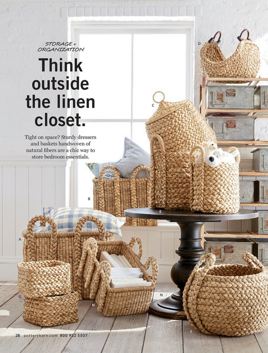 STORAGE + ORGANIZATION D Think Outside The Linen Closet. C Tight On Space?