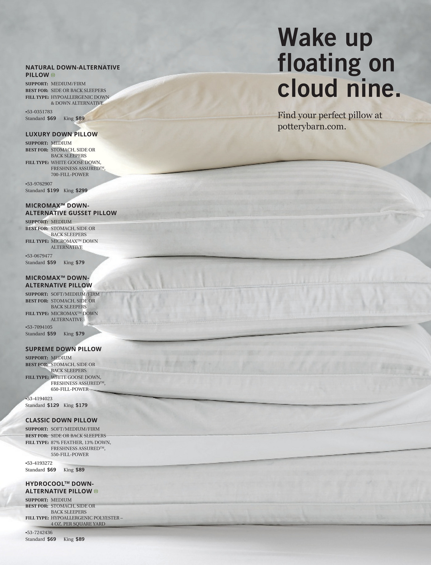 Floating Cloud Bed Pottery Barn Bed Bath Spring 2017 D1 Page 34 35