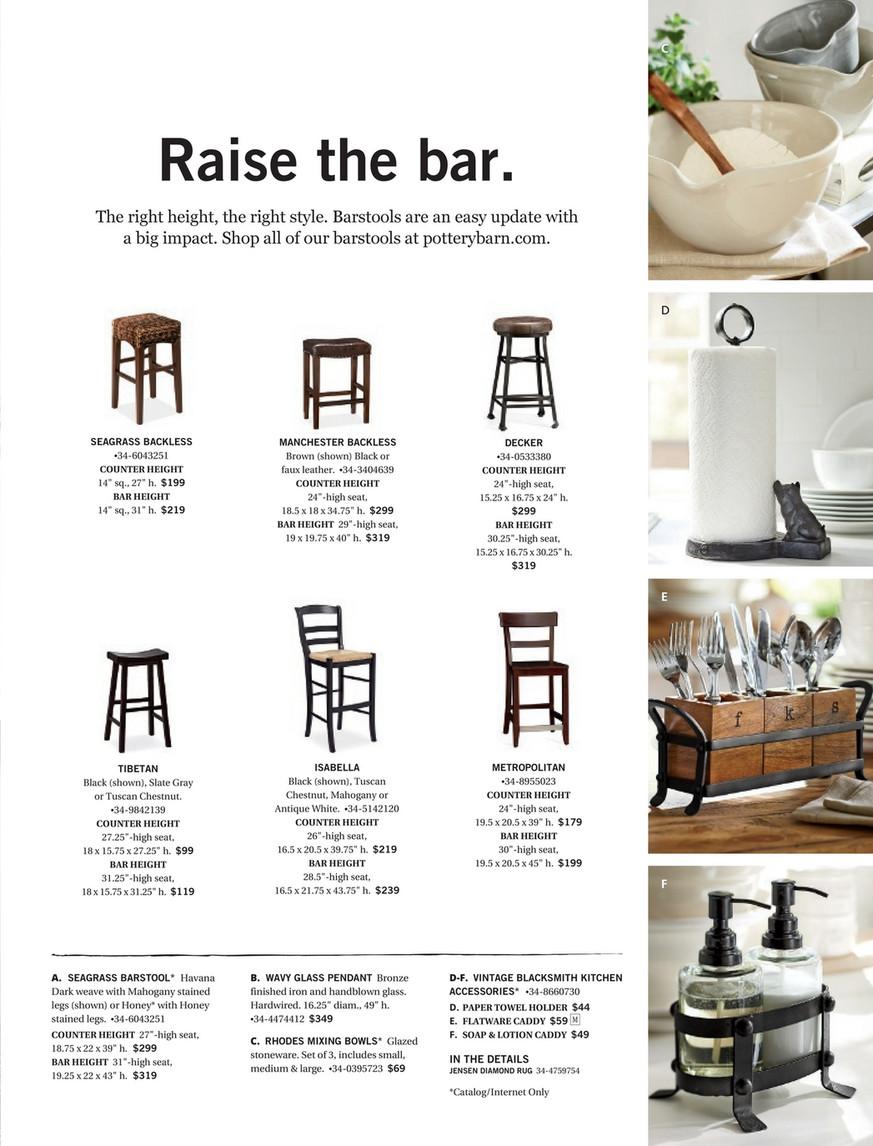 Superb Pottery Barn Spring 2017 D2 Seagrass Bar Stool Bar Machost Co Dining Chair Design Ideas Machostcouk