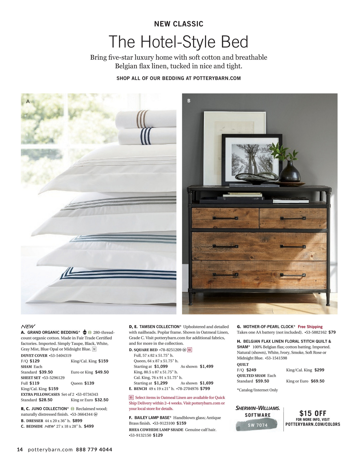 pottery barn - bed & bath spring 2017 d2 - page 14-15
