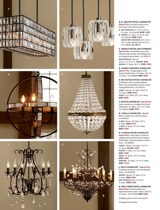 Pottery barn spring 2017 d3 dumont antique mirrored round a c a b adeline crystal chandelier special price faceted crystals on an aloadofball Image collections