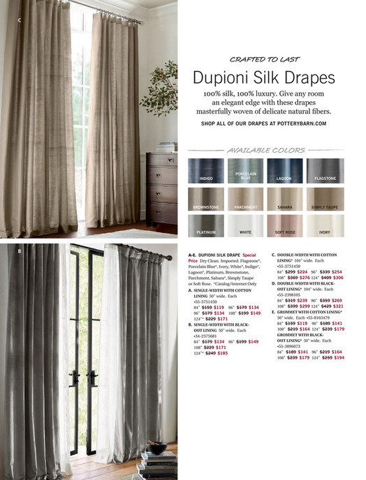 C Crafted To Last Dupioni Silk D 100 Luxury