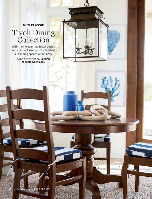 B New Clic Tivoli Dining Collection With Their Elegant Pedestal Design And Compact Size