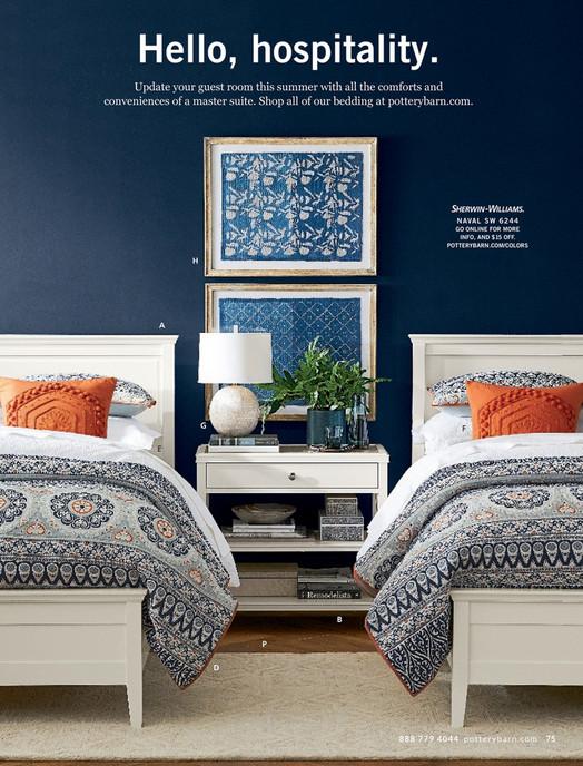 03cf056b94b5 Pottery Barn - Summer Bed & Bath D1 - Clara Extra-Wide Dresser, Sky White
