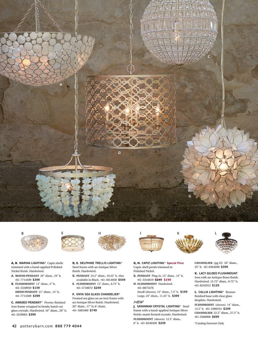 big sale 0f38f 59c89 Pottery Barn - Summer Bed & Bath D2 - Enya Seaglass ...