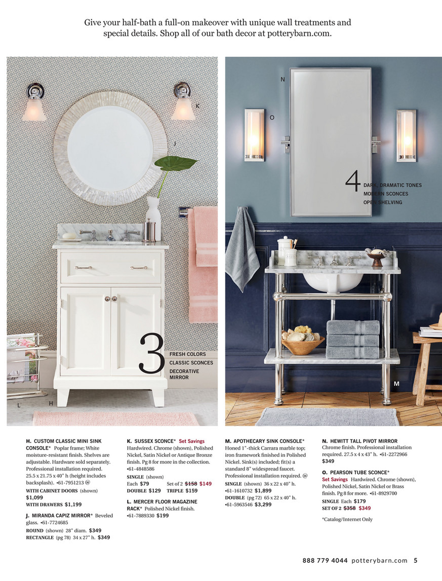 Pottery Barn Summer Bed Bath D2 Page 4 5