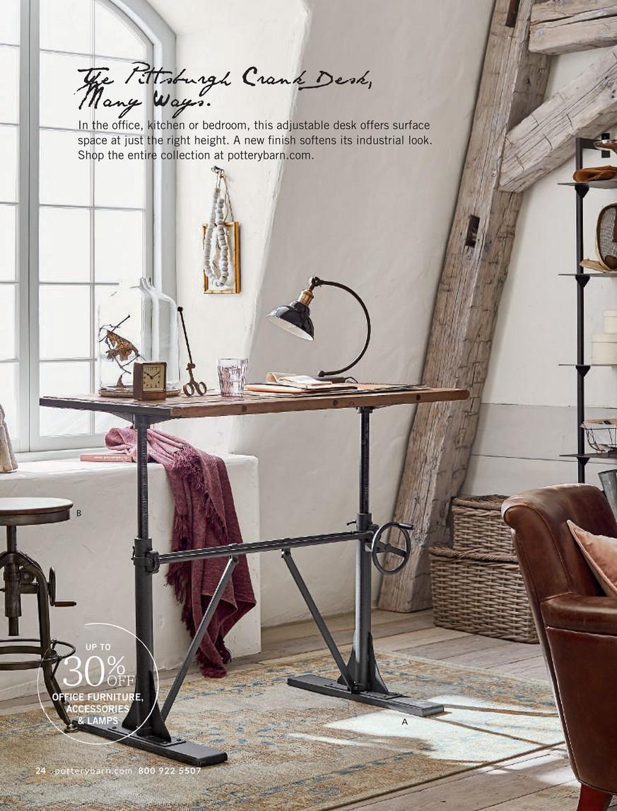 Swell Pottery Barn Fall 2017 D1 Pittsburgh Adjustable Height Uwap Interior Chair Design Uwaporg