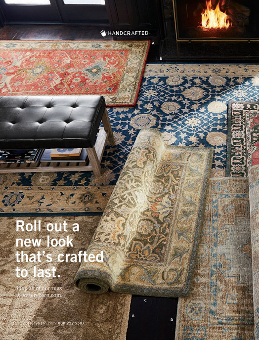 A B J Roll Out New Look That S Crafted To Last All Of Channing Persian Rug Red Or Neutral