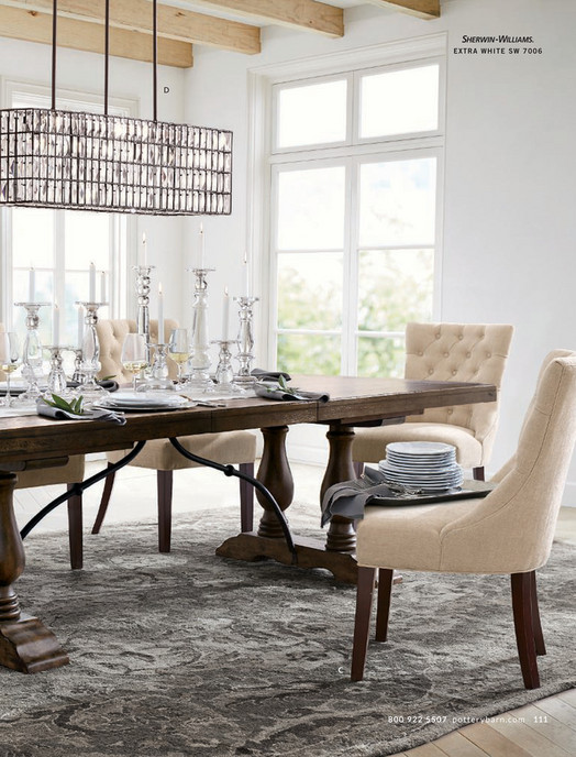 715e5dacd9 QUALITY MATTERS Lorraine Dining Table Inspired by traditional Spanish  furniture, this collection brings bold good EXTRA WH ITE S W 7006 D C 8 0 0  9 2 2 5 5 ...