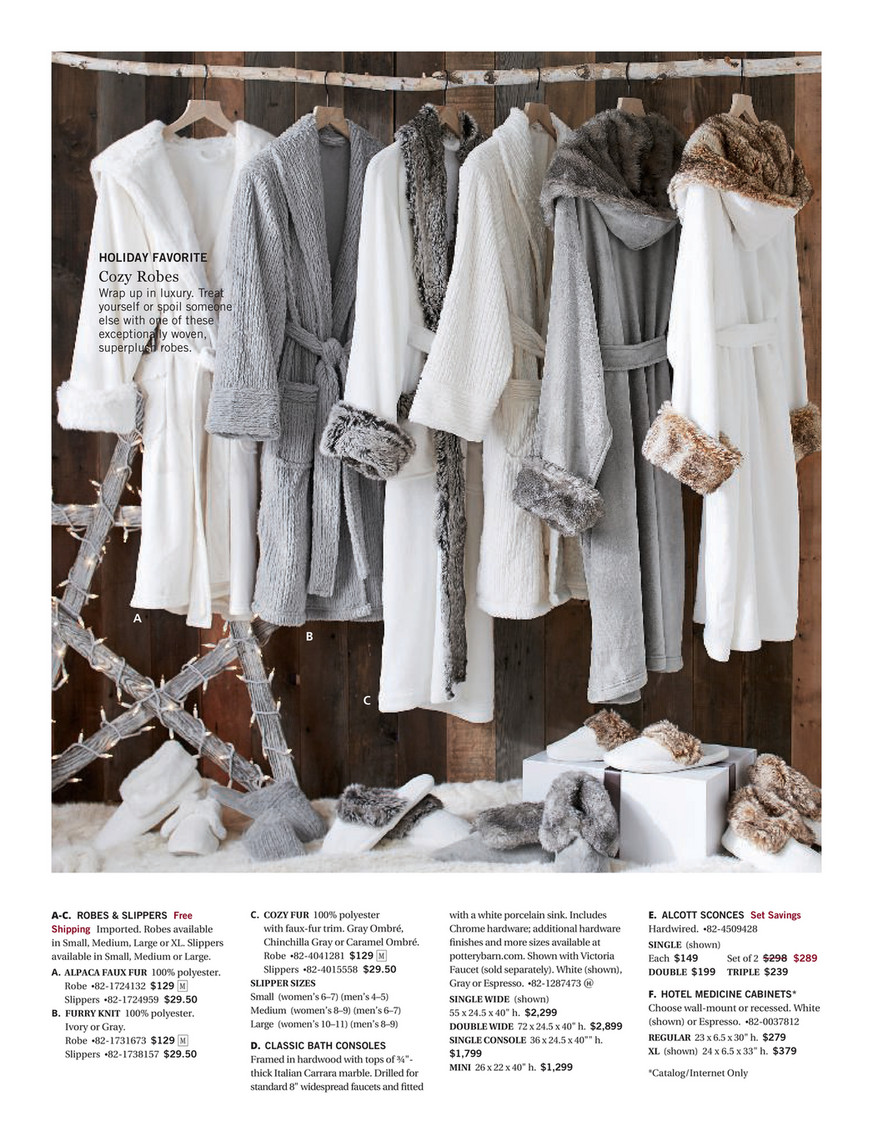 Voile D Ombrage 6 X 4 pottery barn - fall 2017 d3 - page 52-53