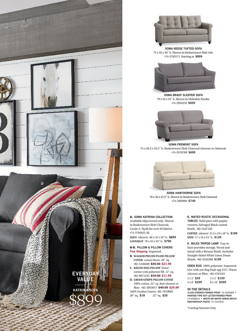 Pottery Barn - Holiday 2017 D1 - Page