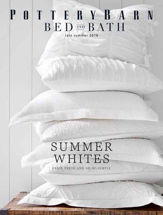 Online Catalog Bed Bath Summer 2018 Pottery Barn