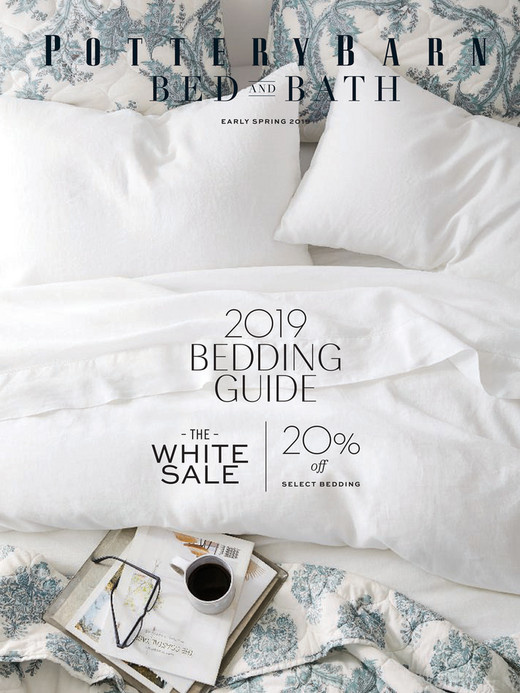 online catalog bed \u0026 bath early spring 2018 pottery barne a r ly s p r i n g 2 0 1 9 2019 bedding guide \u2013 the \u2013 white sale 20